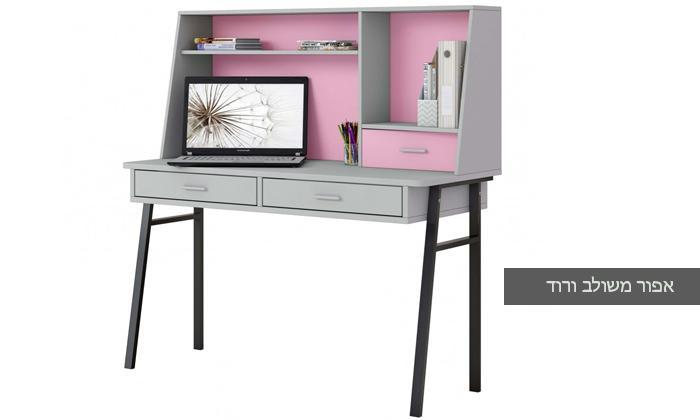 4 רהיטי סוכריה: שולחן כתיבה לחדר ילדים ונוער