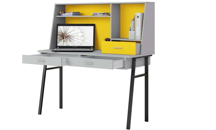 7 רהיטי סוכריה: שולחן כתיבה לחדר ילדים ונוער