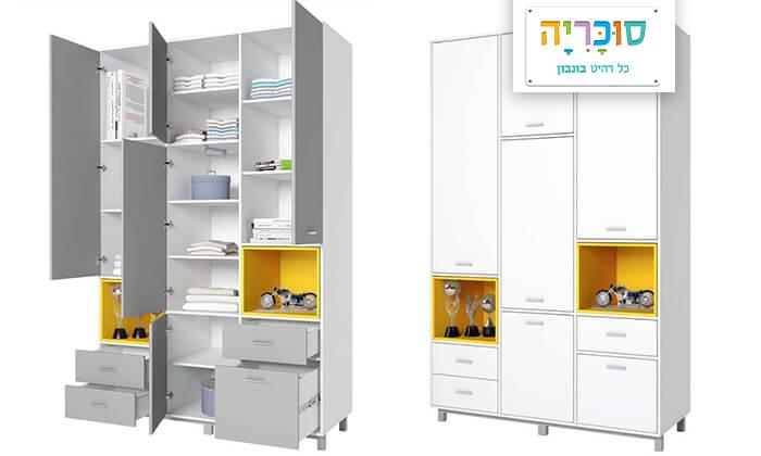 2 רהיטי סוכריה: ארון לחדר ילדים ונוער