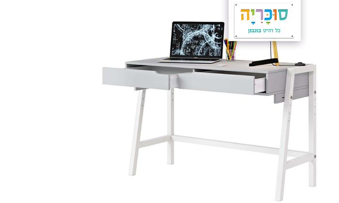 2 רהיטי סוכריה: שולחן כתיבה לחדרי ילדים ונוער דגם ברלין