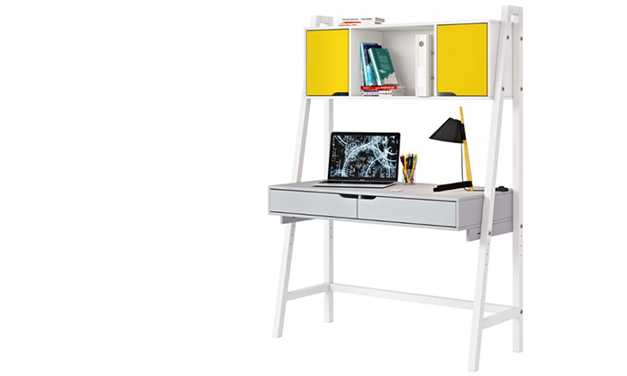 6 רהיטי סוכריה: שולחן כתיבה בתוספת כוורת לחדר ילדים ונוער