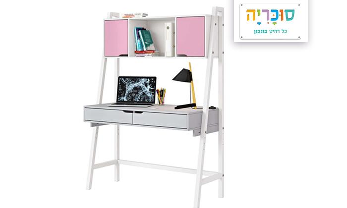 2 רהיטי סוכריה: שולחן כתיבה בתוספת כוורת לחדר ילדים ונוער