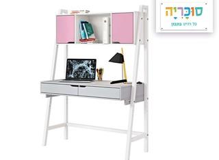 שולחן כתיבה בתוספת כוורת