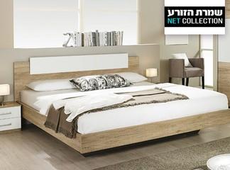 חדר שינה מלא: מיטה מזרן ושידות