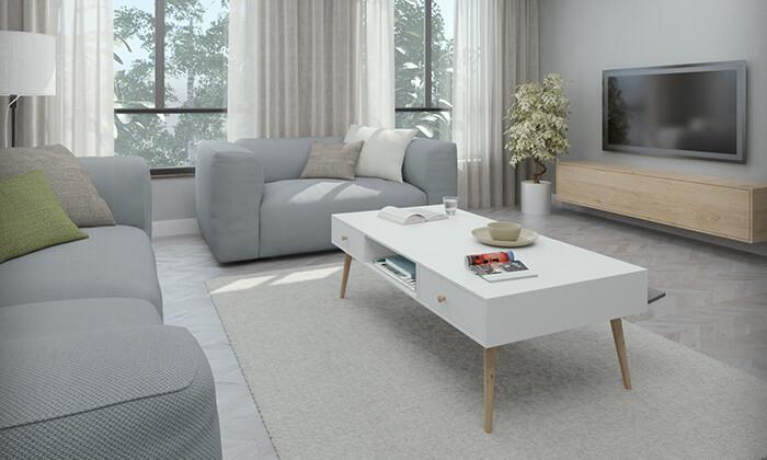 2 שולחן סלון דגם נאפולי