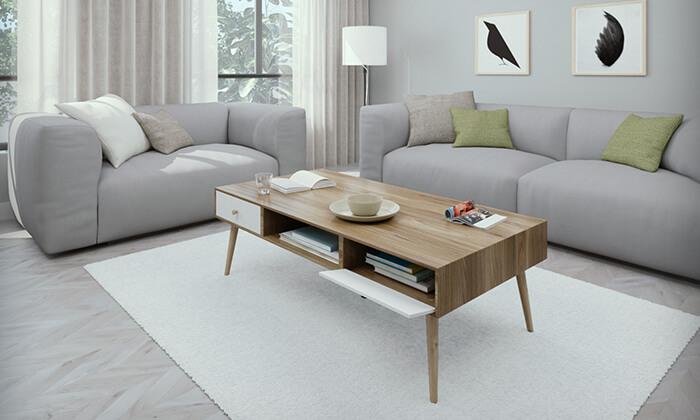 5 שולחן סלון דגם נאפולי