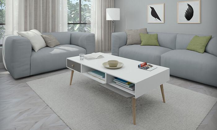 6 שולחן סלון דגם נאפולי