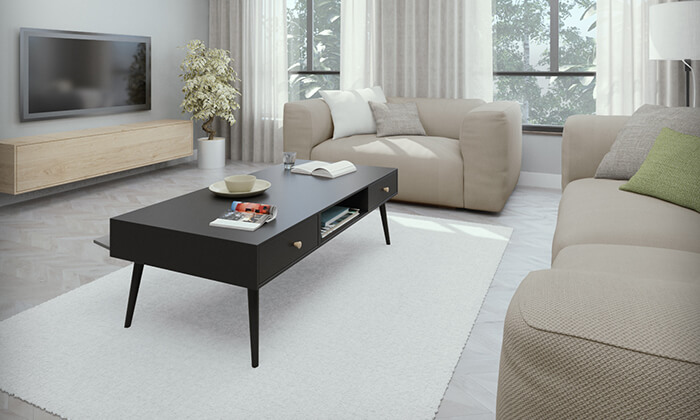 4 שולחן סלון דגם נאפולי