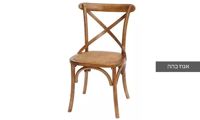 3 כיסא מעץ מלא לפינת האוכל