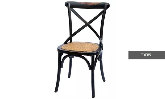5 כיסא מעץ מלא לפינת האוכל