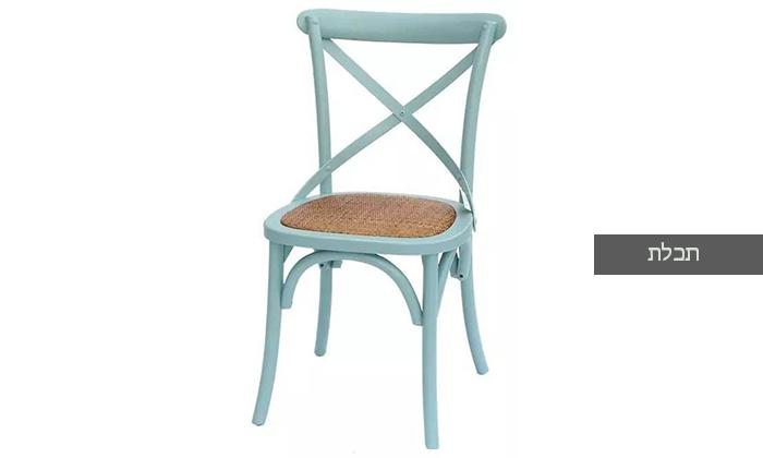 7 כיסא מעץ מלא לפינת האוכל