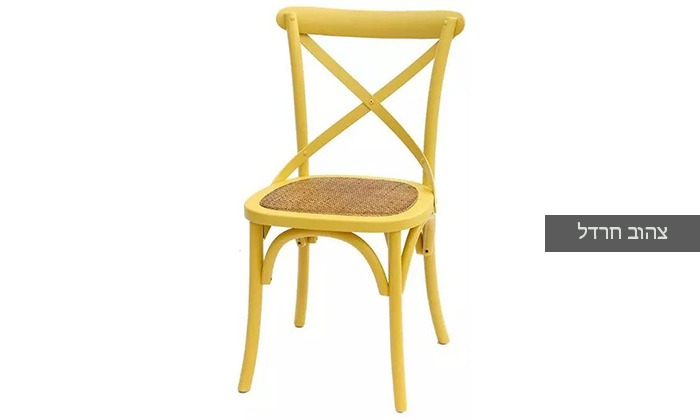 8 כיסא מעץ מלא לפינת האוכל