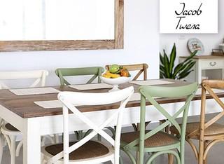 כיסא מעץ מלא לפינת האוכל