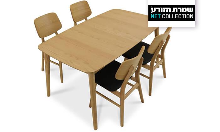 2 שמרת הזורע: פינת אוכל נפתחת עם 4 או 6 כיסאות