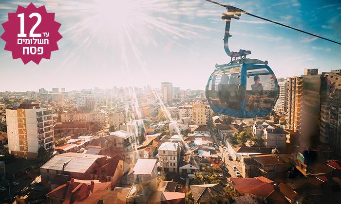 5 טיול מאורגן בבטומי ומערב גאורגיה