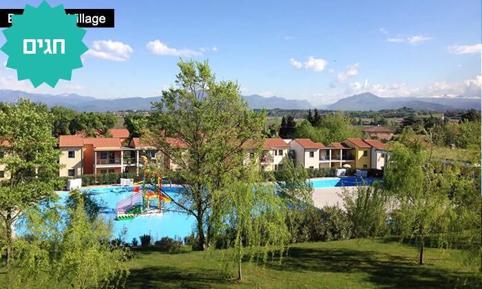 3 כפר נופש באגם גארדה, צפון איטליה