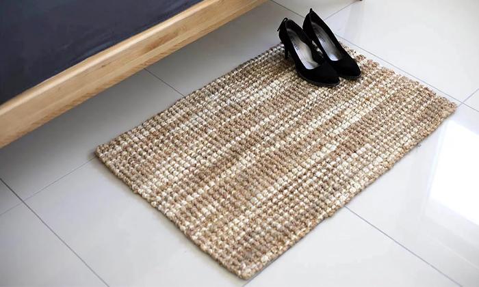 2 שטיח חבל עם גוונים