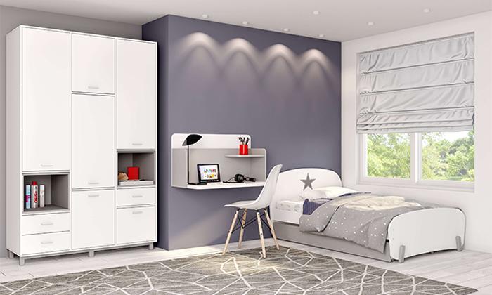 3 רהיטי סוכריה: שולחן כתיבה תלוי על הקיר