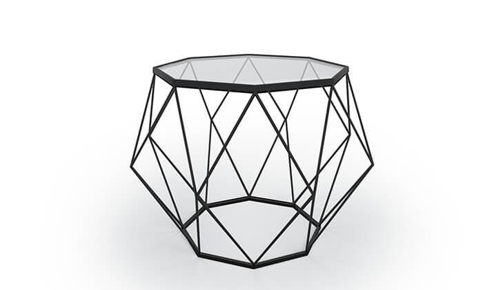 3 סט שולחן סלון וקונסולת כניסה Razco, משלוח חינם