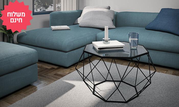 6 סט שולחן סלון וקונסולת כניסה Razco, משלוח חינם
