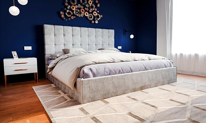 7 מיטה זוגית מרופדת דגם SKY