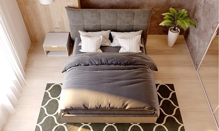 6 מיטה זוגית מרופדת