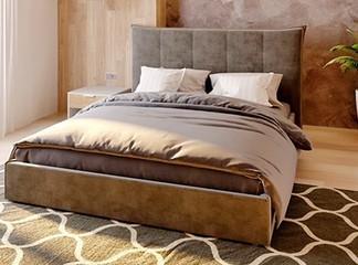 מיטה זוגית מרופדת דגם MISTY