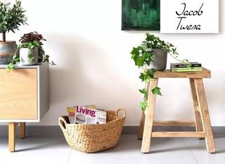 שרפרף עץ טבעי או צבעוני