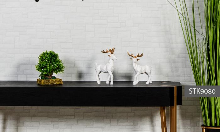 5 פסלוני חיות בעיצוב גיאומטרי