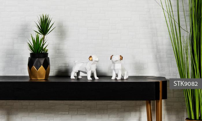 7 פסלוני חיות בעיצוב גיאומטרי