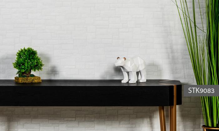 8 פסלוני חיות בעיצוב גיאומטרי