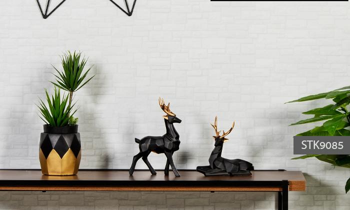 10 פסלוני חיות בעיצוב גיאומטרי