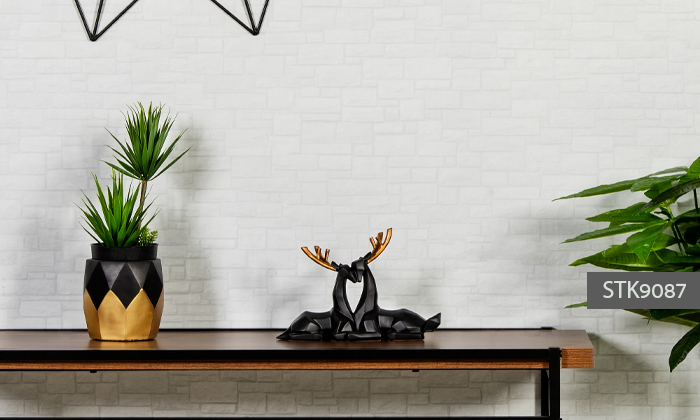 11 פסלוני חיות בעיצוב גיאומטרי