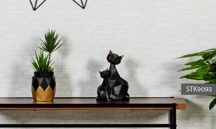 15 פסלוני חיות בעיצוב גיאומטרי