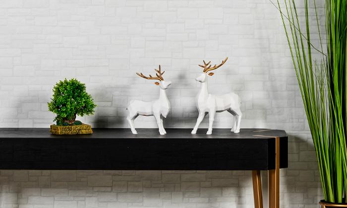 16 פסלוני חיות בעיצוב גיאומטרי