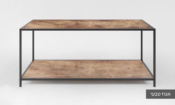 3 שולחן סלון בעל מדף תחתון