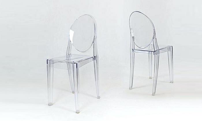 4 כיסא שקוף
