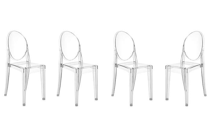 3 כיסא שקוף