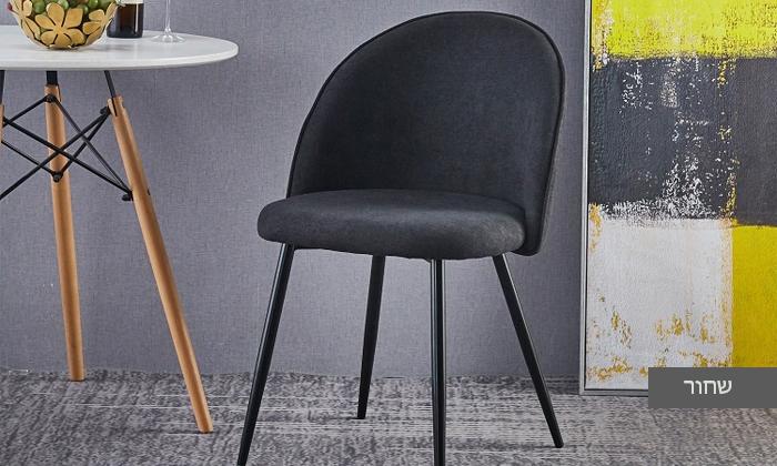 5 כיסא אוכל מרופד