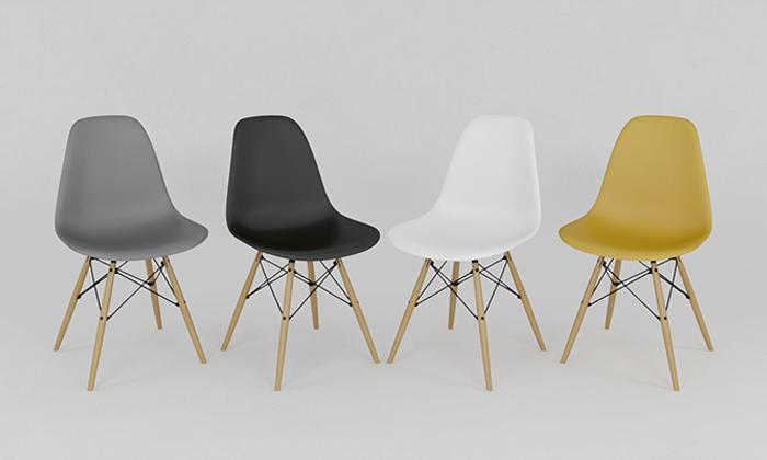 5 שולחן אוכל וארבעה כיסאות
