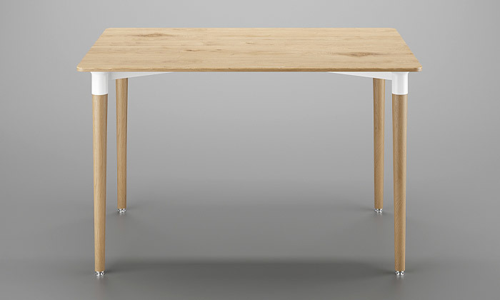 3 שולחן אוכל וארבעה כיסאות