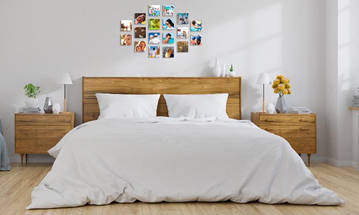 2 סט אריחי תמונות על קאפה בהתאמה אישית באתר PicOnAl