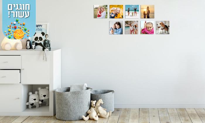 7 סט אריחי תמונות על קאפה בהתאמה אישית באתר PicOnAl