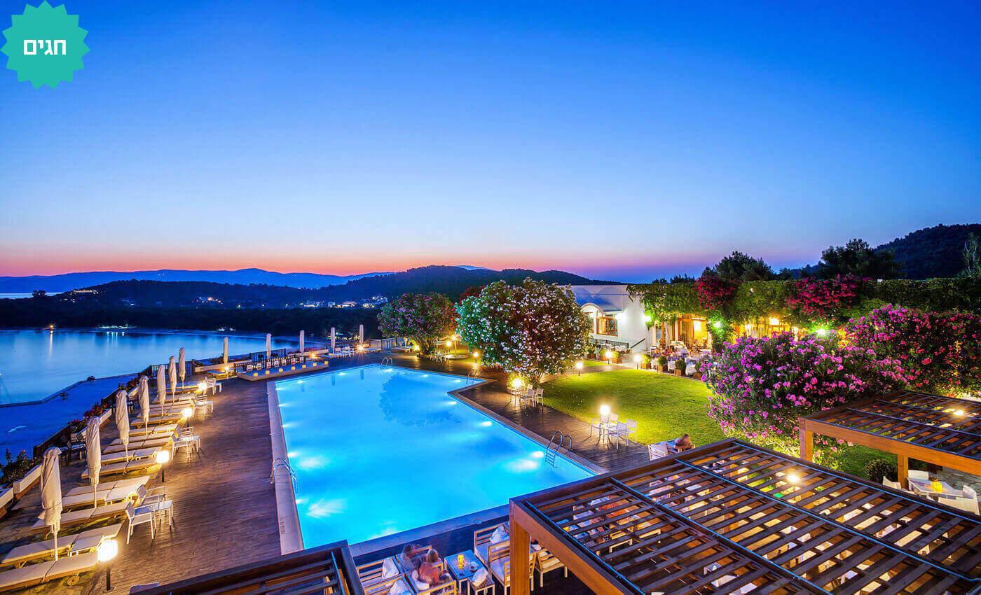 2 חופשה באי היווני הקסום סקיאתוס - קיץ וחגים