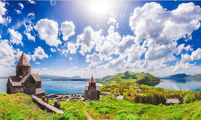 3 יולי-אוגוסט וחגים בארמניה - טיול מאורגן