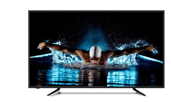 """4 טלוויזיה 4K SMART Peerless עם מסך """"50  """