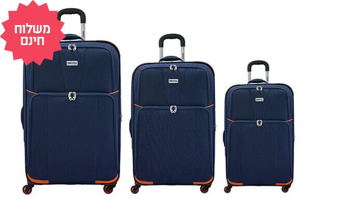 6 3 מזוודות SWISS | משלוח חינם