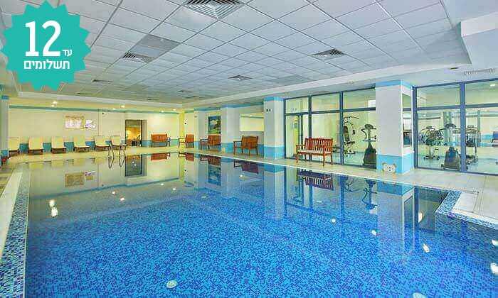 5 מאי-אוגוסט בוורנה - מלון הכול כלול עם פארק מים