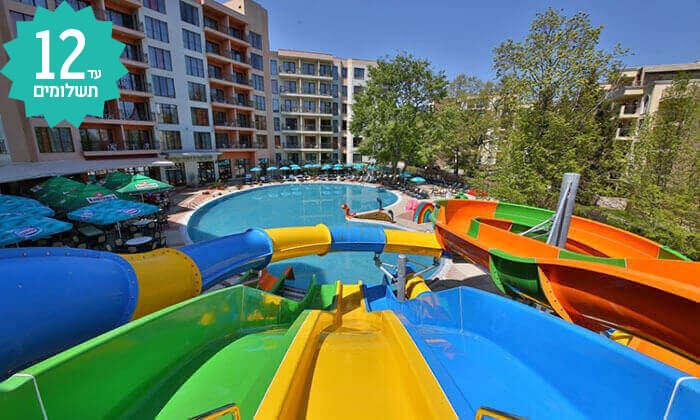 6 מאי-אוגוסט בוורנה - מלון הכול כלול עם פארק מים