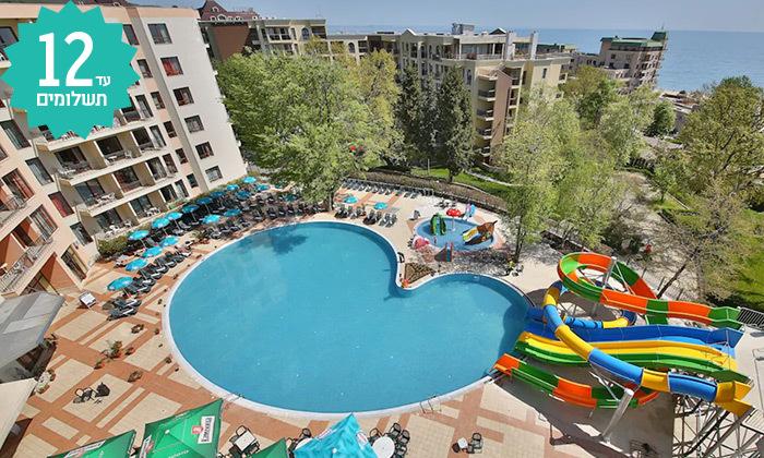 2 מאי-אוגוסט בוורנה - מלון הכול כלול עם פארק מים
